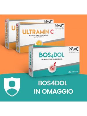 BOX AIUTO DIFESE IMMUNITARIE - 2 ULTRAMIN C - 1 BOS4DOL IN OMAGGIO