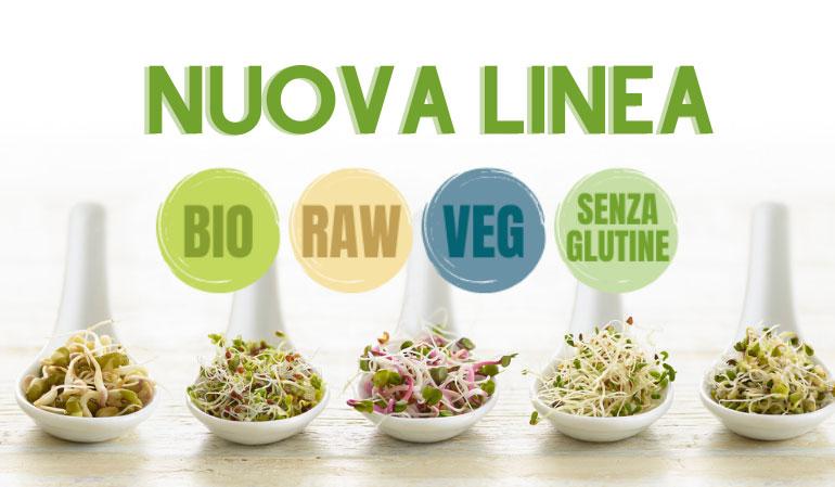Prodotti BIO Senza flutine veg raw