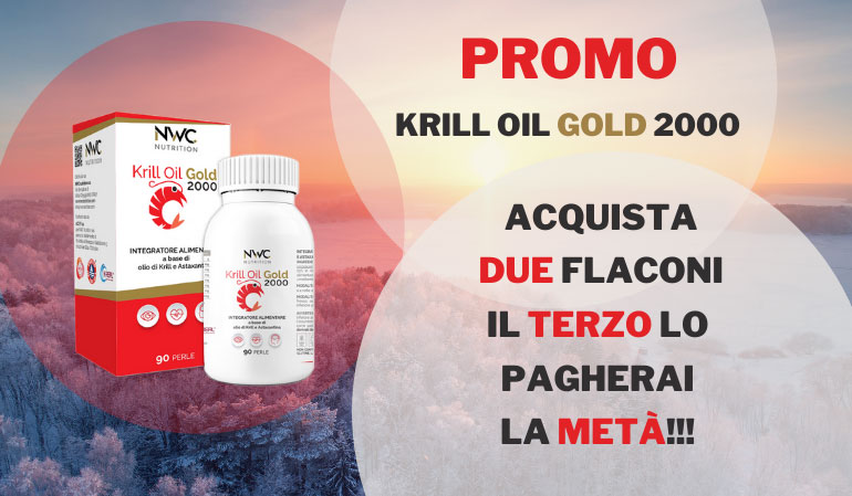 3 CONFEZIONI - KRILL OIL GOLD 2000
